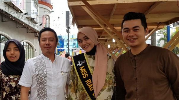 Bersama Miss Riau 2017-2018